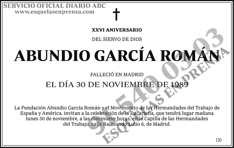 Abundio García Román